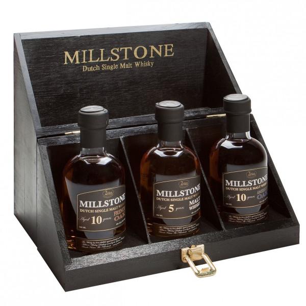 Millstone - whiskyproeverij kist