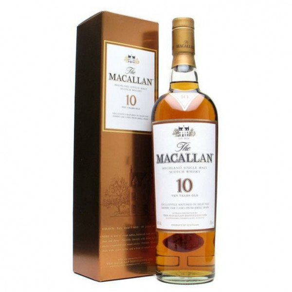 The Macallan, 10 Y - Sherry cask (70CL)