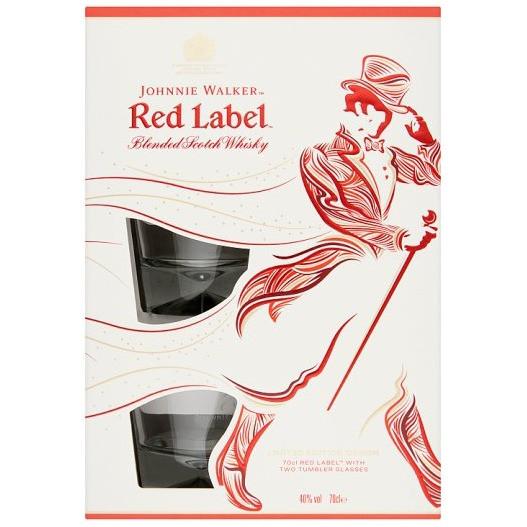Johnnie Walker - Red Label cadeau (70CL)
