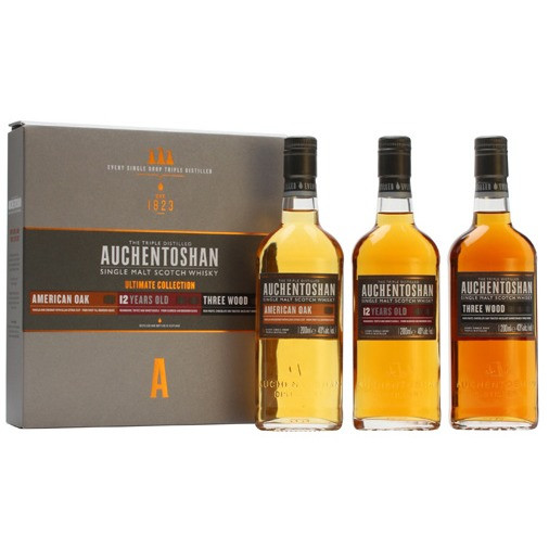 Auchentoshan - Classic, 12 Y, Three Wood (60CL)