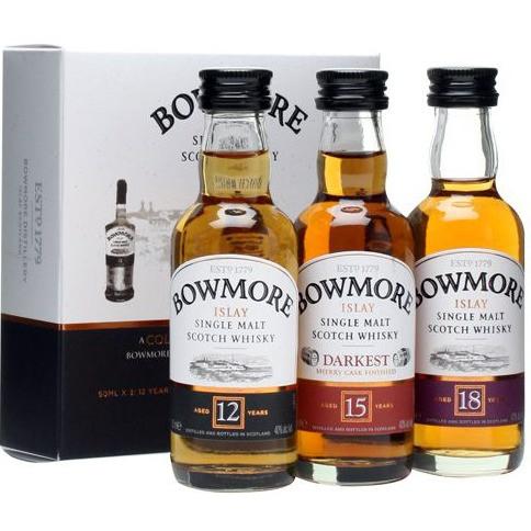Bowmore - 12, 15, 18 Y (15CL)