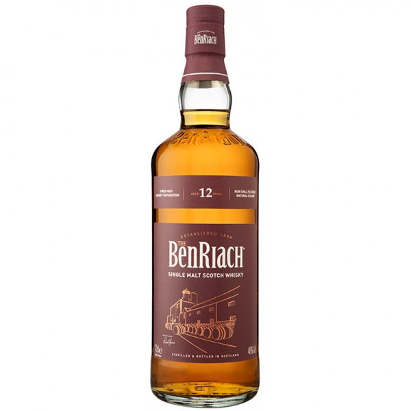 BenRiach, 12 Y - Sherry (70CL)