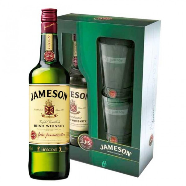 Jameson - whiskeygeschenk (70CL)