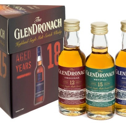 Glendronach - Miniset 12/15/18 (15CL)