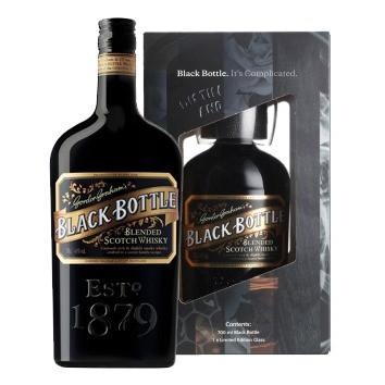 Black Bottle (Geschenk) (70CL)
