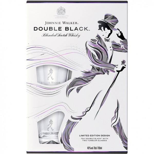 Johnnie Walker - Double Black cadeau (70CL)