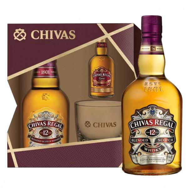 Chivas Regal, 12 Y (Geschenk) (70CL)