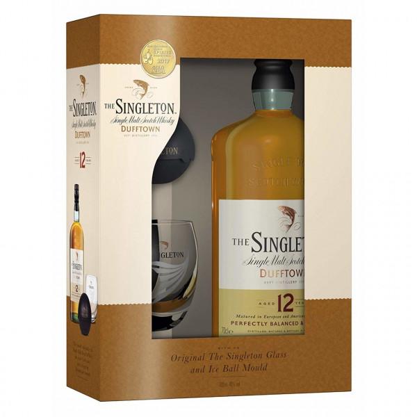 The Singleton, 12 Y met 1 Glas en Ice Ball Mould (70CL)