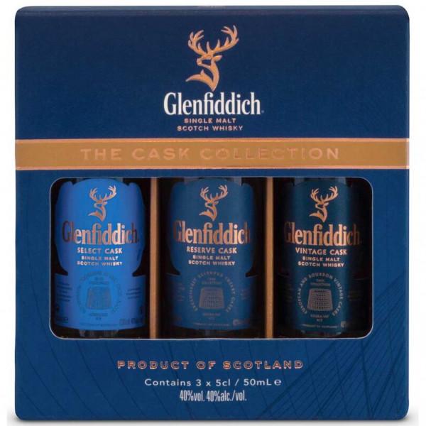 Glenfiddich - Cask Collection mini set (15CL)
