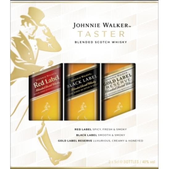 Johnnie Walker - Taster Set  (15CL)