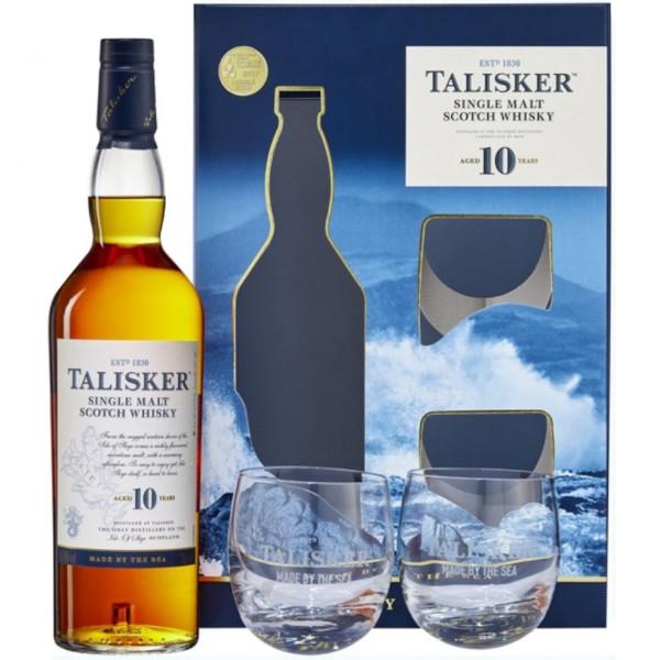 Talisker, 10 Y Gift Pack (70CL)