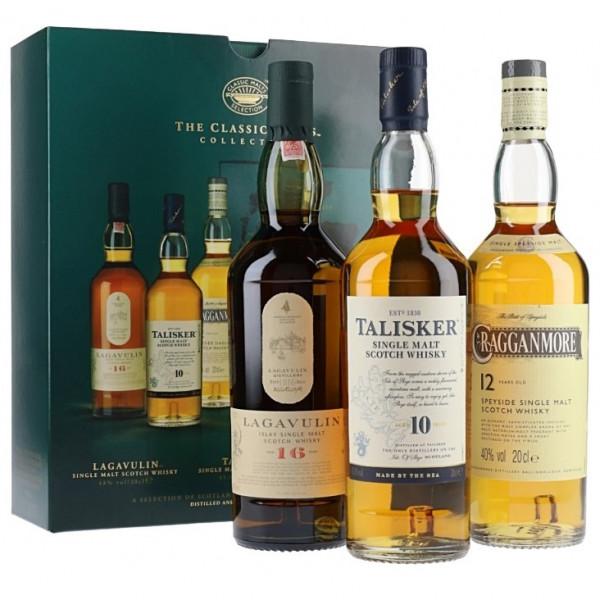 Classic Malt Collection - Lagavulin, Talisker, Cragganmore (60CL)