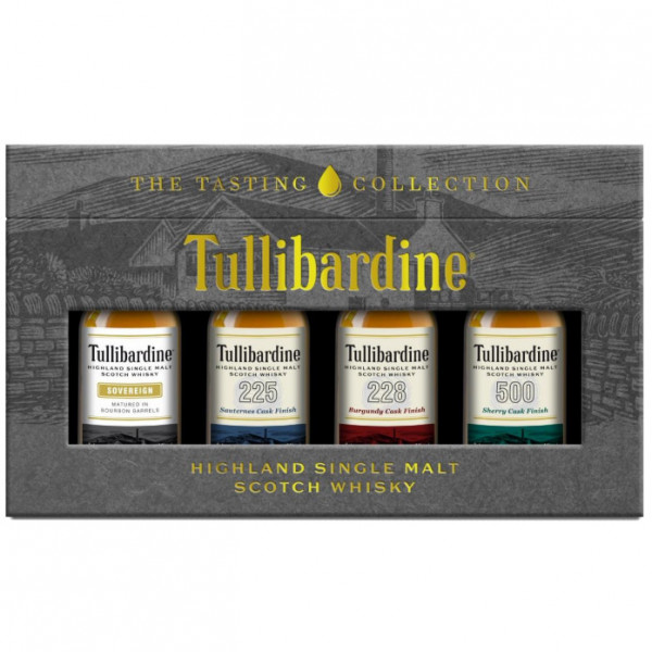 Tullibardine Whisky Mini Collection (20CL)