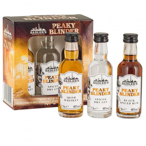 Peaky Blinder Gift Pack, 3 mini's (15CL)