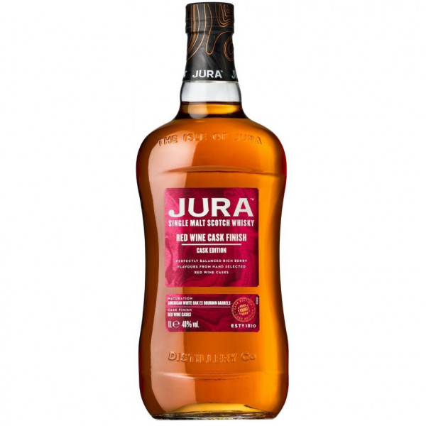 Jura - Red Wine Cask Finish (70CL)