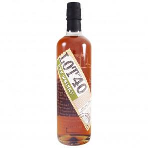 Lot No 40 - Rye Whiskey (70CL)