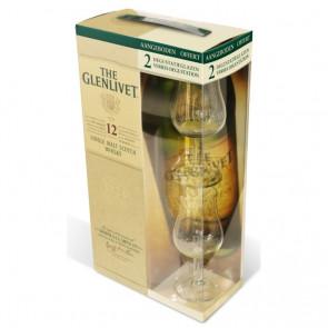The Glenlivet, 12 Y - geschenkdoos (70CL)