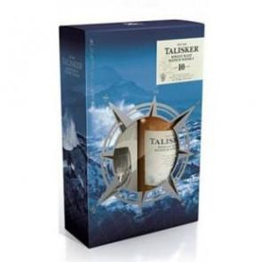Talisker, 10 Y met 2 glazen (70CL)