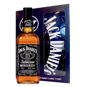 Jack Daniel's - Old No. 7 met T-Shirt (70CL)