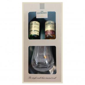 Glenlivet, 12 & 15 Y (Proefpakket) (10CL)