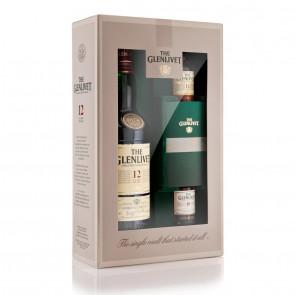Glenlivet, 12 Y (Geschenk met miniaturen) (70CL)