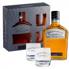 Jack Daniel's - Gentleman Jack cadeauset 2 glazen (70CL)