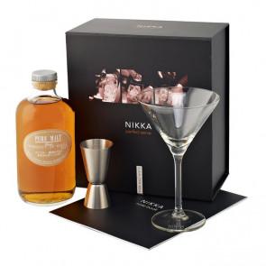 Nikka - Pure Malt White Cocktail-Set (50CL)