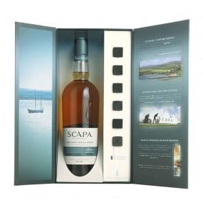 Scapa, 16 Y - met whiskystenen (70CL)