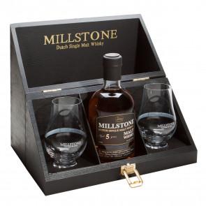 Millstone, 5 Y met 2 glazen (35CL)