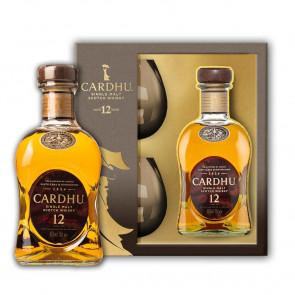 Cardhu, 12 Y met 2 glazen (70CL)