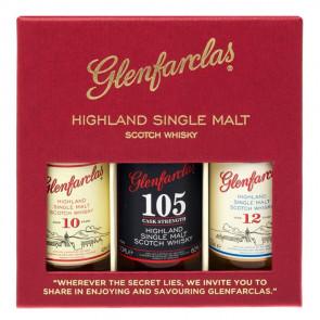 Glenfarclas - 10/12/CS (Miniset) (15CL)
