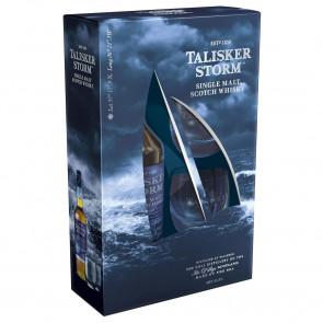 Talisker - Storm met 2 Glazen (70CL)