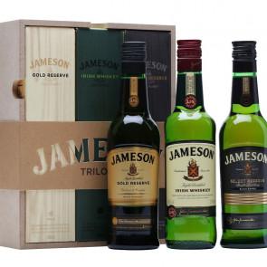 Jameson - Trilogy geschenk (60CL)