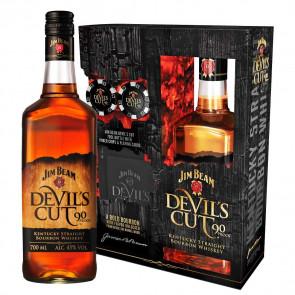 Jim Beam - Devil's Cut, Poker Pack (70CL)