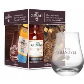 Glenlivet - Mini Pack Founders Reserve, 15, 18 Y (15CL)