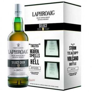 Laphroaig - Select met 2 Glazen (70CL)