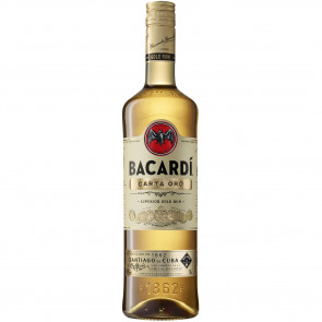 Bacardi - Carta Oro (1LTR)