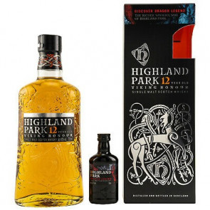 Highland Park, 12 Y met Dragon Legend (70CL)