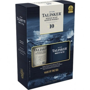 Talisker, 10 Y with Hip Flesk (70CL)