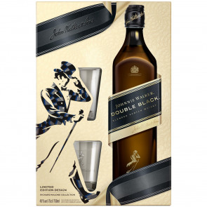 Johnnie Walker - Double Black Gift Pack (70CL)