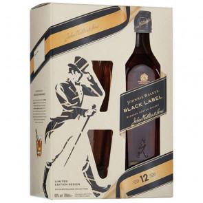 Johnnie Walker, 12 Y - Black Label, Gift Pack (70CL)