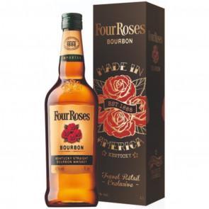 Four Roses - Bourbon Whiskey in Gift Tin  (1LTR)