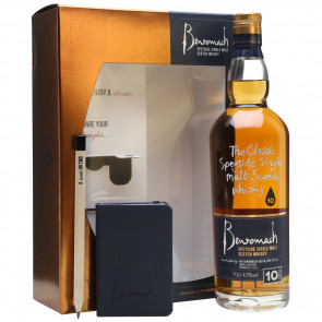 Benromach, 10 Y - Gift Pack with Notes (70CL)