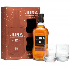 Jura, 12 Y - Gift Pack (70CL)