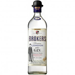 Broker's - London Dry Gin (70CL)