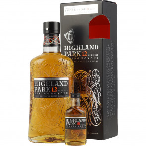 Highland Park, 12 Y Giftpack with mini 18 Y (70CL)