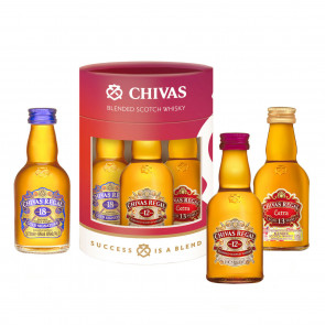 Chivas Regal - Minibox 3 x 50ml (15CL)