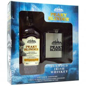 Peaky Blinder - Irish Whiskey Hip-Flask Gift-Pack (70CL)