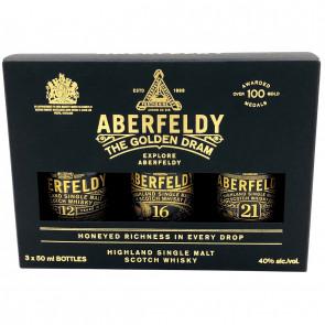 Aberfeldy Miniset 3 x 50 ml (15CL)