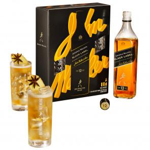 Johnnie Walker - Black Label Gift Pack 2 Glazen (70CL)